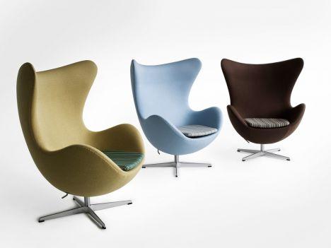 Designer sessel klassiker  Egg Lounge-Sessel von Fritz Hansen: Fünf zeitlose Sessel-Klassiker ...