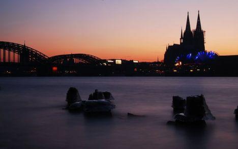 Romantischer Rheinufer